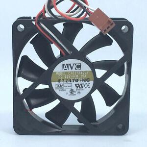 AVC C7015B12LY 7015 DC12V 0.15A 7cm CPU 3-pin silent cooling fan