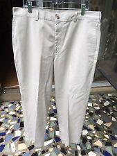 NWOT Brooks Brothers Pants 36x30 Men's Tan 100% Cotton Flat Front