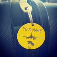 X 4 Tags - Travel Holiday travel accessories Luggage Tags Labels Identifier