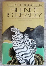 Silence Is Deadly (Jan Darzek #4) by Lloyd Biggle Jr. HC Doubleday (BCE)