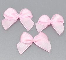 1000Pink Hello Ribbon HOTSELL Bow Wedding Scrapbooking Embellishment 25x20mm