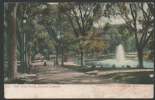 1905 Undivided Back Postcard The Frog Pond Boston Common 563