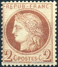 FRANCE CERES N° 51 NEUF * AVEC CHARNIERE COTE 200€ A VOIR