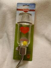 Kaytee Chew Proof Water Bottle for Hamster Gerbil Other Small Pets 6 oz (177 mL)