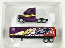 Winross Ford Aeromax Tour Louisville Semi Truck and Trailer 1:64 Scale NIB