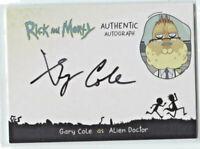 CRYPTOZOIC RICK AND MORTY SEASON 2 * AUTOGRAPH CARD * ALIEN DOCTOR  * #GC-AD