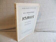 la tragédie de Hamlet Shakespeare lithographies de Eugène Delacroix