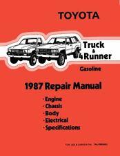 Bishko Oem Repair Maintenance Shop Manual Bound for Toyota 4-Runner, Truck 1987