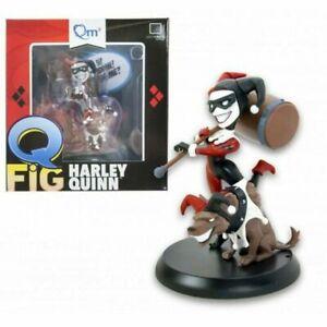 -= ] QUANTUM MECHANIX - Q-FIG Harley Quinn with Dog [ =-