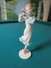 "CYBIS DANCING GIRL BALLERINA PINK SHOES FIGURINE  6"" [*CYBIS]"