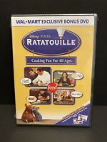 Ratatouille Cooking Fun For All Ages (DVD) Wal-Mart Bonus DVD New/Sealed