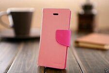 iPhone 5 5s SE Genuine MERCURY Goospery Pink Flip Case Wallet Cover Postage