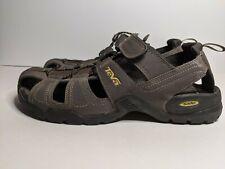 Teva Men's Forebay Brown Fisherman Sandals Hiking Size 11 Water Shoes