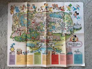 1979 DISNEY Magic Kingdom Walt Disney World Park Map - Vintage Poster