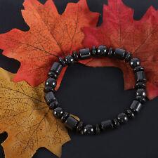 Bio Magnetic Black Stone Bracelet For Weight Loss UK SELLER