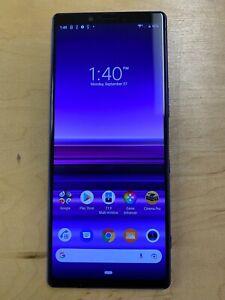 Sony Xperia 1 - 128GB - Purple (Unlocked) (Single SIM)