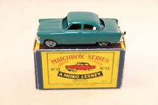 Matchbox Lesney No 33 Ford Zodiac 99% mint in box all original condition GMW