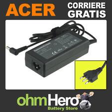 Alimentatore 19V 3,42A 65W per Acer TravelMate 4070