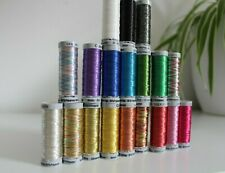 Gutermann Sulky metallic embroidery thread, 200m