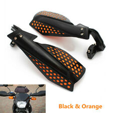 "Black&Orange Brush Bar Hand Guards Handguard For 7/8"" 22mm Handlebar Motorcycle"