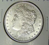 Choice AU 1884 Morgan Silver Dollar Philadelphia Mint (32118)