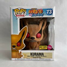 Funko Pop! Kurama Hot Topic Exclusive Flocked Naruto Shippuden Anime 73