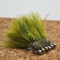 Chain Eye Damsel Variant Size 10 Short Shank (Set of 3) Fly Fishing Flies