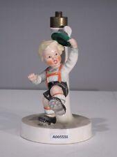 +# A005558 Goebel  Archivmuster EF36 Lampenfuß mit Figur FF124 Tirol. Junge TMK3