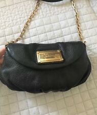 Marc By Marc Jacobs Classic Q Karlie Crossbody Black Leather Shoulder Handbag