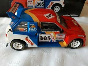 1:18 CODE 3 MG METRO 6R4 BIGGERSTAFF 1992 CHAMPION Rally X Race Motorsport