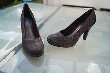 TAMARIS Damen Schuhe Pumps High Heels Abendschuhe Leopard Glitzer edel Gr.41 #6k