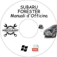 SUBARU FORESTER - Guida Manuali d'Officina - Riparazione e Manutenzione!