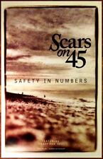 SCARS ON 45 Safety In Numbers Ltd Ed Discontinued RARE Poster +FREE Indie Poster