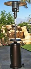 88'' Gas Outdoor Patio Heater w/ Copper Hammered Adjustable Table 47K Btu