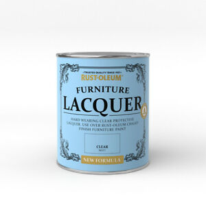 Rust-Oleum Furniture Lacquer 750ml / 125ml - Chalk Paint Protection