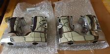 Harley Shovelhead Chrome Rocker Box Rocker Arm Covers 17516-77 17517-77 (916)