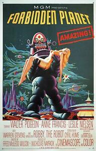 Forbidden Planet   Poster Canvas Picture Art Print Premium Quality