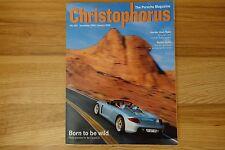 Porsche Christophorus #287 -January 2000/January 2001- World Premiere Carrera GT