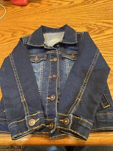 Toddler Girls Denim Jacket 4T Jordache  NWOT