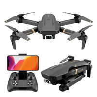 2021 FPV Wifi Drone Quadcopter 4K Camera Aircraft Foldable Selfie Flip