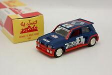 Solido Hachette 1/43 - Renault 5 Turbo Tour De Corse 1985