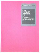 Philippe HALSMAN. The NIBROC portfolio of photographers, 5. Brown Company, 1965.