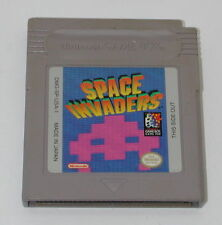 Space Invaders for Original Nintendo Gameboy Cleaned and Tested  R5534