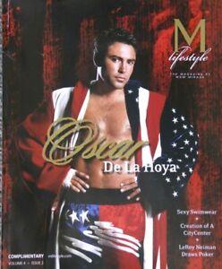 OSCAR DE LA HOYA - COVER STORY M LIFESTYLE MAGAZINE - VOLUME 4 - ISSUE 2