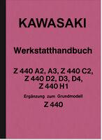 Kawasaki Z 440 A2 A3 C2 D3 D2 Reparaturanleitung Werkstatthandbuch Z440 Manual