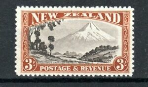 New Zealand 1941 3s Mount Egmont perf 12 1/2 MVLH
