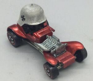 Vintage 1969 Hot Wheels Redline Red Baron