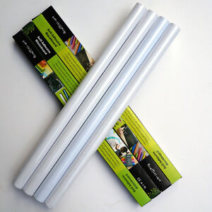 DRY WIPE VINYL MAGIC WHITEBOARD STICKER ROLL 2METERS LONG 60CM WIDE OR 45CM WIDE