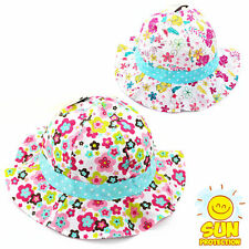 Unbranded Girls' Floral Baby Caps & Hats