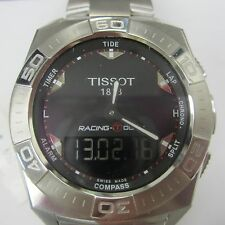 TISSOT RACING T-TOUCH MEN'S WATCH CHRONO SAPPHIRE ALL S/S T0025201105100 NEW